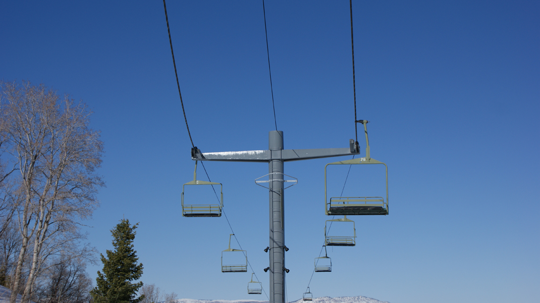 The Custom Built Forced Perspective Chair Lift, Design by B. McBrien