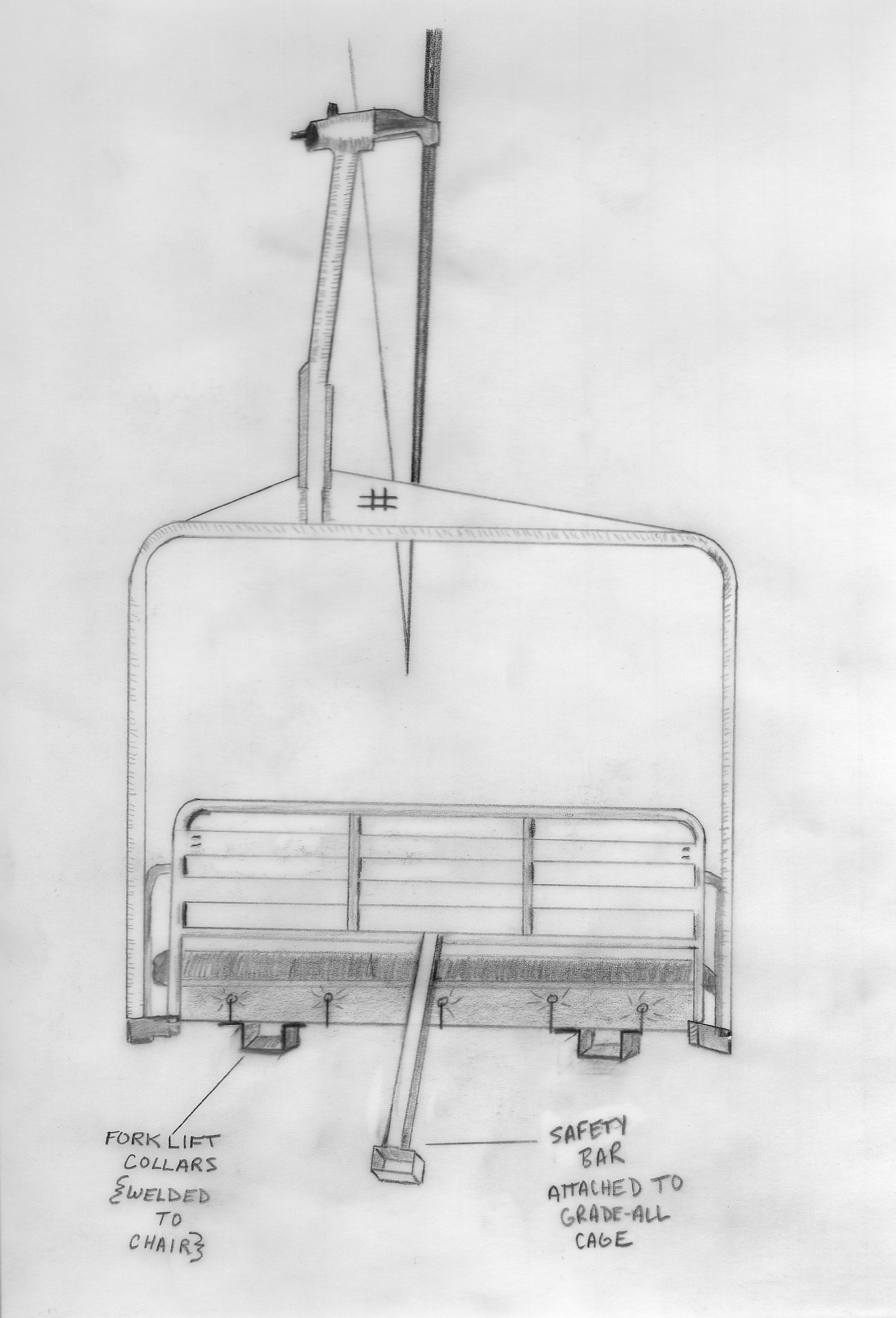 SFX Fork Lift attachment, Design by B. McBrien
